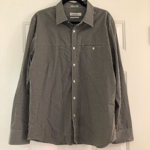 Calvin Klein slim fit button up dress shirt
